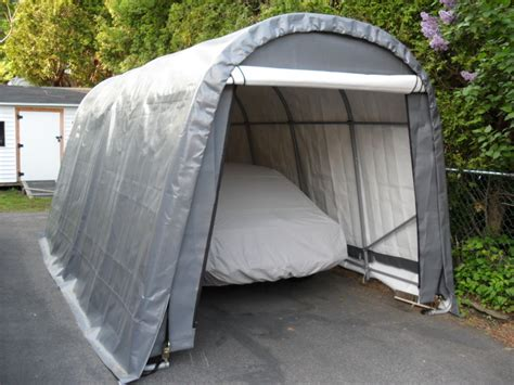 portable garage tent shelter logic 10x20x8 car truck boat cover portable garage