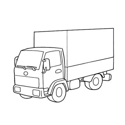 coloriage camion  colorier dessin  imprimer art