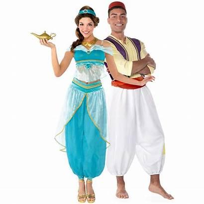 Jasmine Aladdin Costumes Couples Adult Party Icon