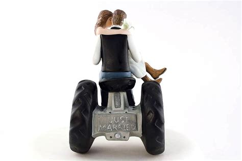 western cake toppers tractor western cake topper wedding collectibles