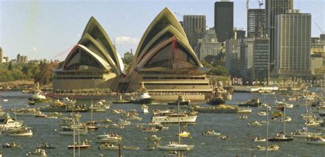 Sydney Opera House Opening – news, photographs, home movie ...