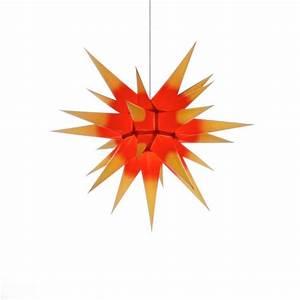 Herrnhuter Stern Beleuchtung : herrnhuter weihnachtsstern i6 gelb rot mit beleuchtung ~ Michelbontemps.com Haus und Dekorationen