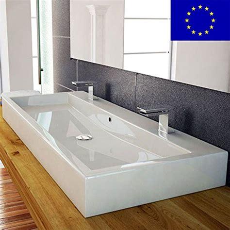 Design Waschbecken 100cm Zur Wandmontage Oder Als