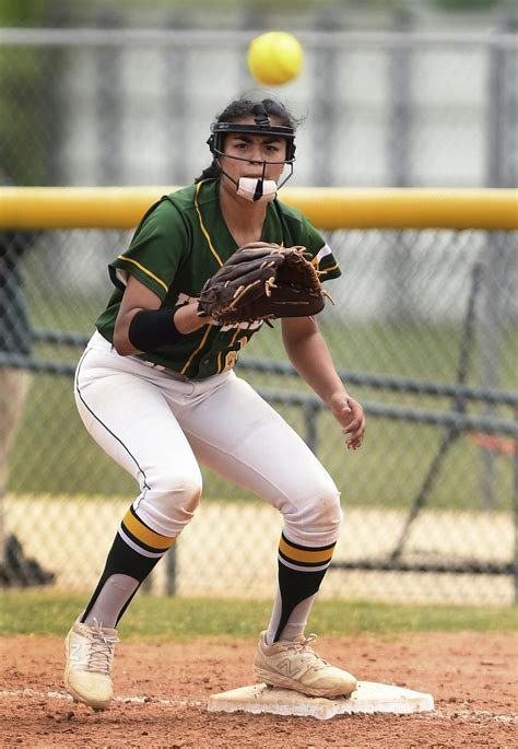 Softball: Holmes first baseman displays batting prowess ...