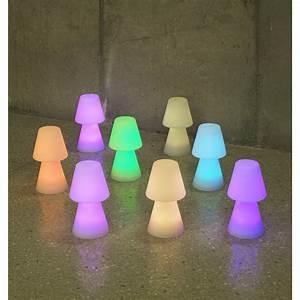 Lampe De Table Exterieur : lampe de table ext rieure lola h 30 cm led int gr e ~ Teatrodelosmanantiales.com Idées de Décoration