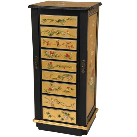 Jewelry Cabinets Furniture by Jewelry Armoire With Mirror Wayfair