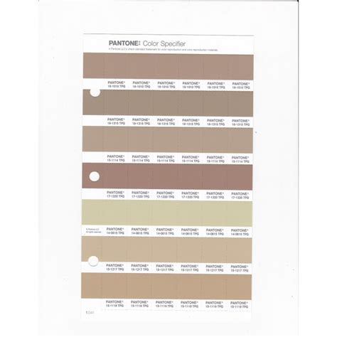 pantone   tpg taos taupe replacement page fashion