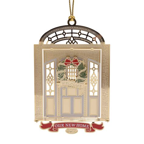 our new home ornament 2017 chemart ornaments solid brass ornament - New House Christmas Ornament
