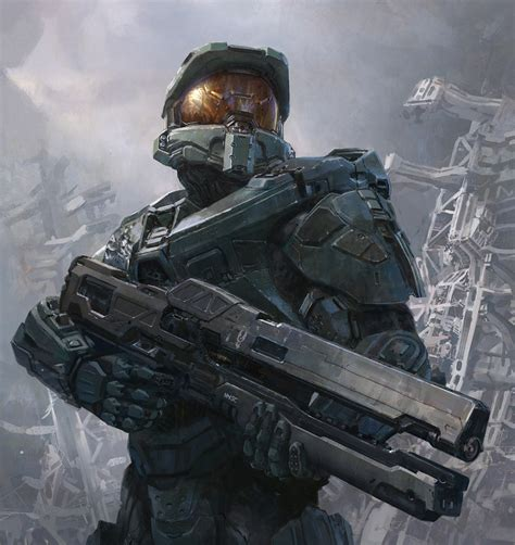 2d Art Halo 4 International Magazine Cover 2d Digital
