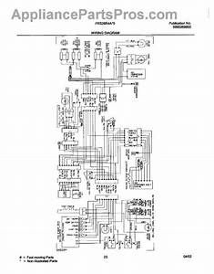 Parts For Frigidaire Frs26r4aw5  Wiring Diagram Parts