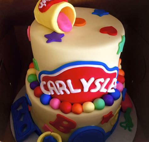 play doh cake play doh themed birthday cake yelp 6639
