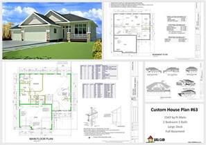 custom home floor plans free house and cabin plans plan 63 1541 sq ft custom home