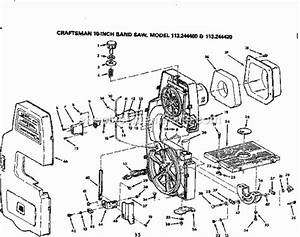 Craftsman 113244400 Parts List And Diagram