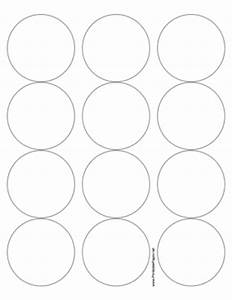 printable round label 25 inches diameter With circle sticker printer paper