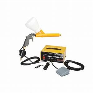 Powder Coating Gun with 10-30 PSI Powder Coating System