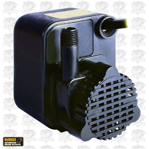 little giant submersible tile saw pump from dewalt