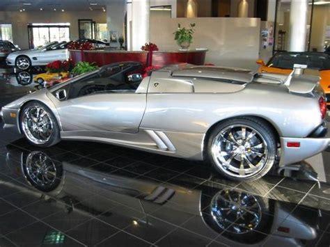 lamborghini diablo vt roadster  sports car