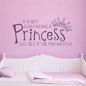 girl princess wall decals With girls wall decals