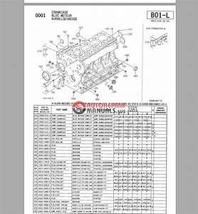 Kubota Diesel Engine V1505 Parts Bulletin