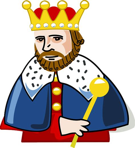 king crown beard 183 free vector graphic on pixabay