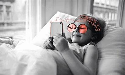 Screen Health Mental Young Covid Bed Glasses
