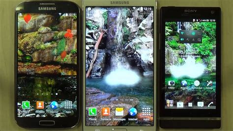 Animated Live Wallpaper For Android by Animated Waterfall Live Wallpaper For Android Phones And