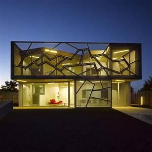 The Modern Geometric House Design  Casa Zafra By Eduardo