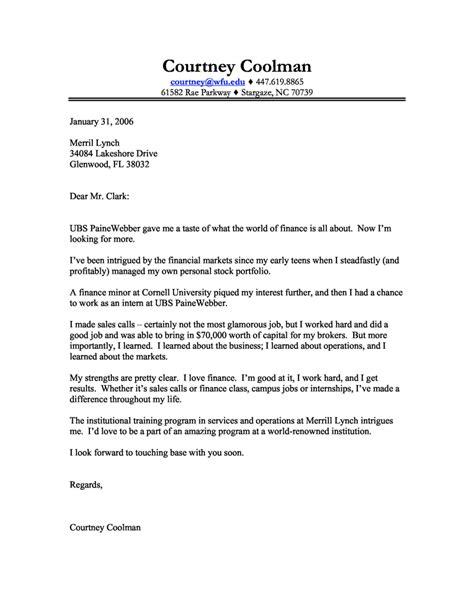 finance intership cover letters finance internship cover letter resume badak