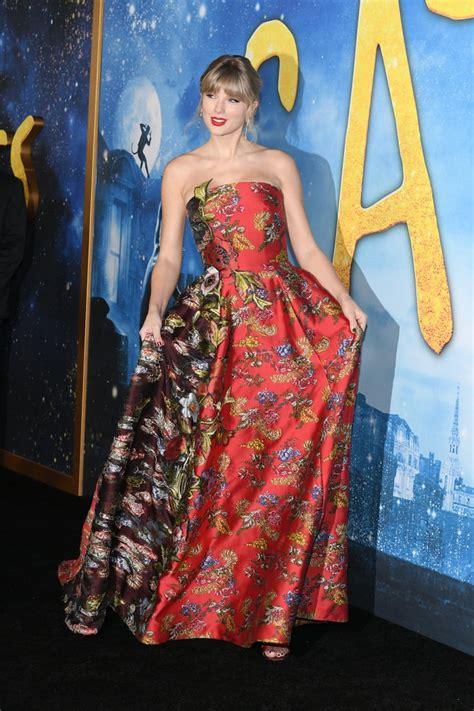 Taylor Swift Wears Oscar de la Renta at the Cats Premiere ...
