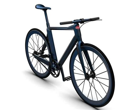Bugatti designed at least some cycle parts to match: PG x Bugatti Bicycle - wordlessTech