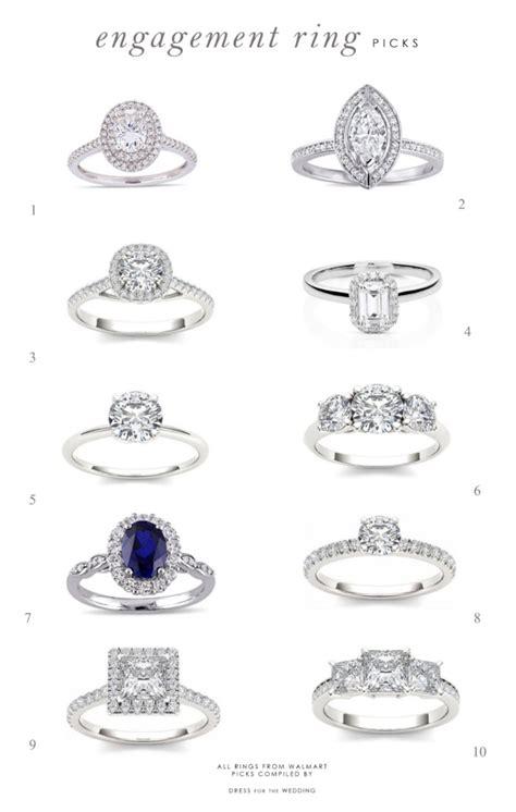 engagement ring picks for the season for the wedding