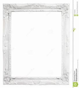Cadre Blanc Photo : cadre blanc de vintage avec l 39 espace vide avec le chemin de coupure photo stock image du ~ Teatrodelosmanantiales.com Idées de Décoration
