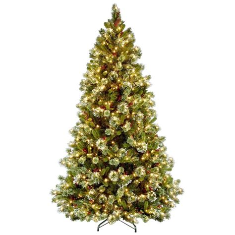 what is a hinged artificial christmas tree national tree company 7 1 2 ft wintry pine medium hinged artificial tree with 650