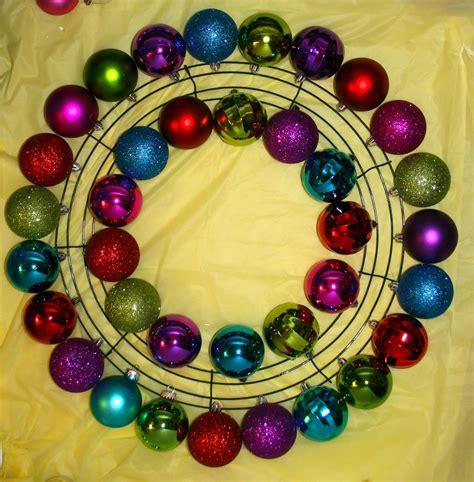diy wire frame christmas decorations smart bottom enterprises ornament wreath