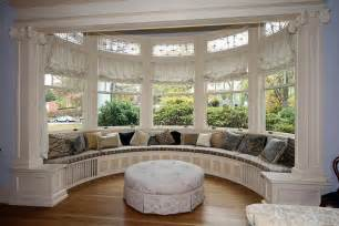 Breakfast Nook Benches by Bay Window Seat For Comfortable Seating Area At Home