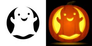 Easy Girly Pumpkin Carving Ideas by Cute Ghost Pumpkin Carving Stencil Free Pdf Pattern To