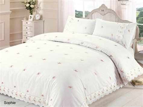 Cream Duvet Quilt Cover & Pcase Bedding Bed Sets Single