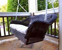wicker porch swings Tortuga Outdoor Portside Wicker Swing - Wicker Swings - Wicker Seating - WickerCentral.com