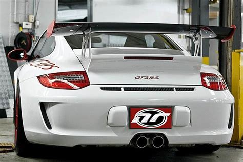 porsche  style gt rs wing nr automobile accessories