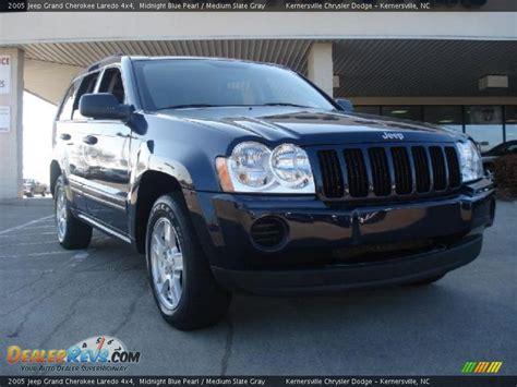 2005 grey jeep grand cherokee 2005 jeep grand cherokee laredo 4x4 midnight blue pearl