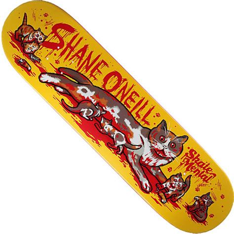 skate mental shane o neill cat with kittens deck in stock
