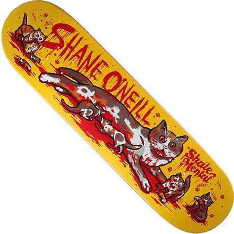 New Skate Mental Decks by Skate Mental Shane O Neill Cat With Kittens Deck In Stock