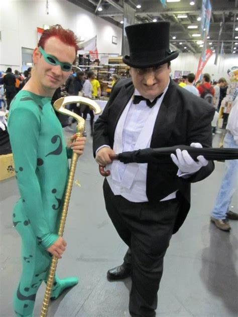 The Riddler and Penguin Costumes