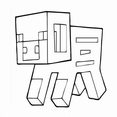 Minecraft Coloring Pages Printable Drawing Colour Colouring