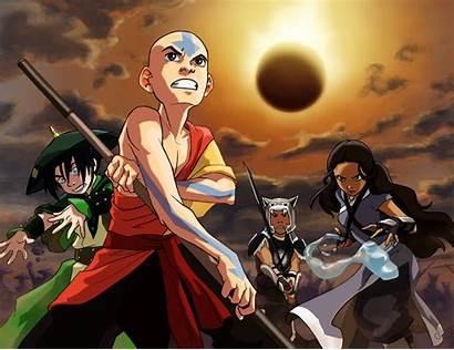 Airbender Avatar Last Anime Battle Aang Wallpapers