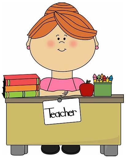 Teacher Clip Clipart Teachers Hair Transparent Cliparts