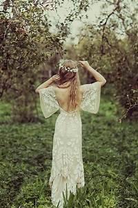 25 best ideas about bohemian wedding dresses on pinterest With boho hippie wedding dress