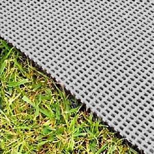 tapis de sol 450gr gris 4 x 25 m camping car caravane With camping tapis de sol