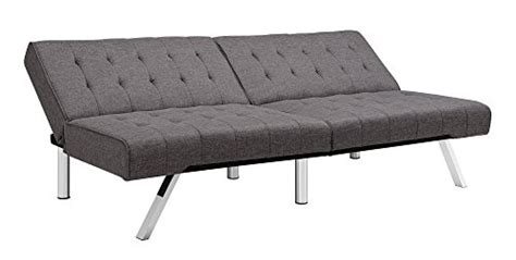 dhp emily futon sofa bed dhp emily futon sofa bed modern convertible couch with