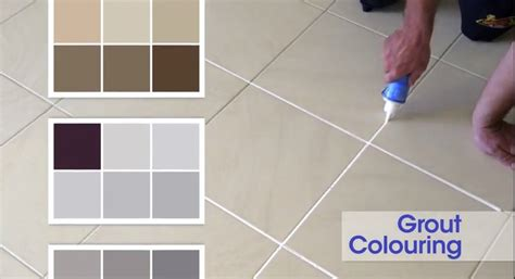 grout coloring grout re colouring gives your home a totally new feel